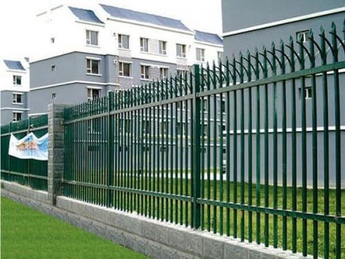 围墙锌钢护栏多少