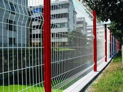 小区护栏网施工步