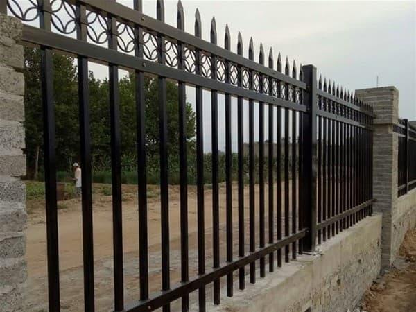 河道锌钢护栏
