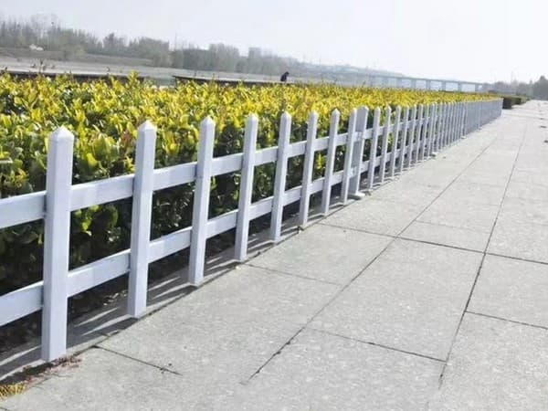 PVC花卉栅栏